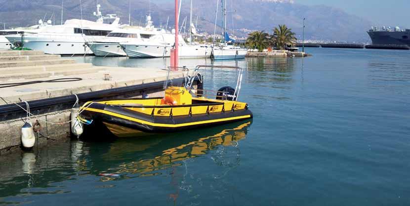 BARCA in POLIETILENE diving